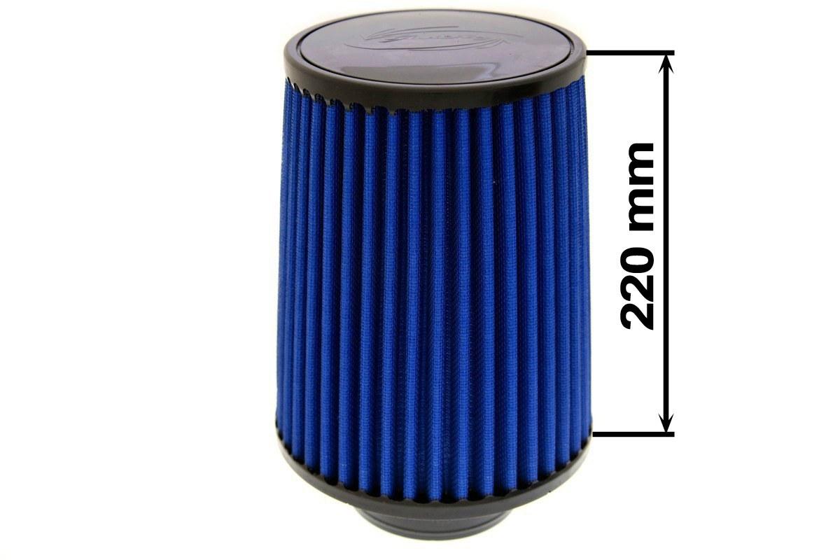 Filtr stożkowy SIMOTA JAU-H02201-11 101mm Blue - GRUBYGARAGE - Sklep Tuningowy